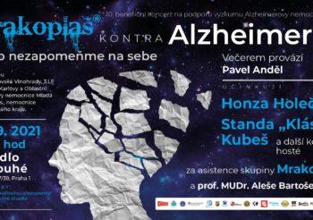 Benefiční koncert Mrakoplaš kontra Alzheimer 2021